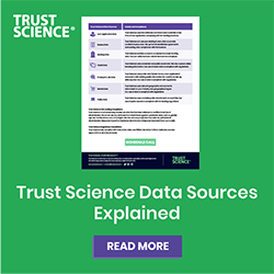 Data Sheet: Trust Science Data Sources Explained