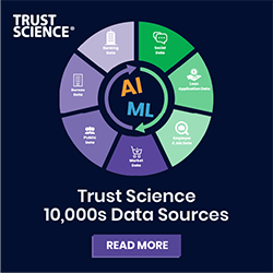 Infographic: Trust Science 10,000s Data Sources