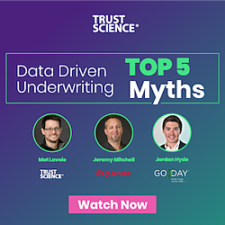 Webinar data driven underwriting